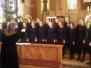 Dziewczęcy Chór Gimnazjum Katedralnego z Poznania na Mszy św. 22 stycznia 2017 r.