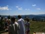 Ministranci i zespół dziecięcy w górach 2009
