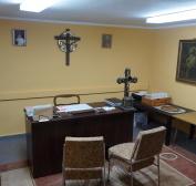 Biuro parafialne po remoncie